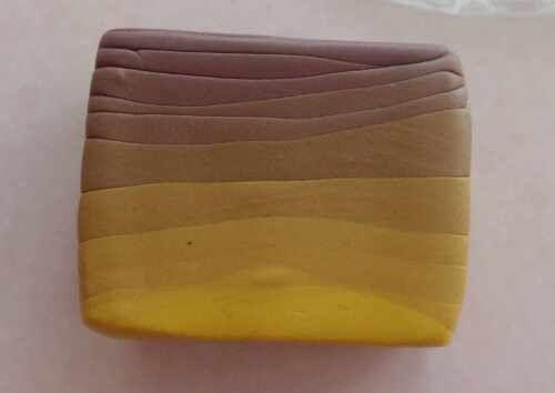 Ein perfekter Farbverlauf ganz und gar ohne Pastamaschine! Schritt für Schritt bei Fimotic.com