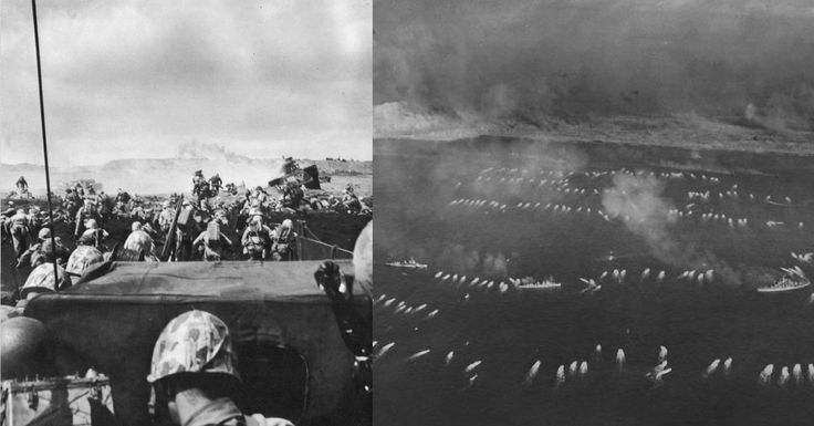A Mighty Collection of 60 Photos tell the Story of the Battle of Iwo Jima