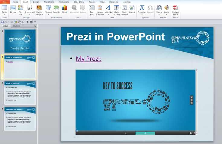 prezi templates for teachers - insert prezi into powerpoint no plugins required