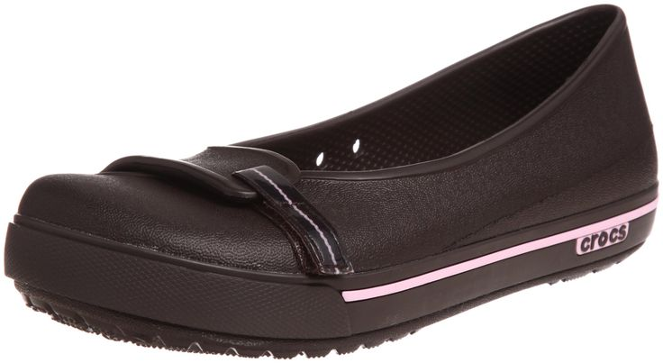 Crocs Women's Crocband 2.5 Flat, Espresso/Bubblegum - 4 M Womens. Crocs Crocband 2.5 Flat Please note this style runs in whole sizes only. For customers who are a half size, the brand recommends ordering a half size larger than your normal shoe size. Create a little fun with the verstaile Crocband 2.5 Flat from Crocs®. Fully molded of Croslite™ material for lightweight comfort. Slip-on silhouette ensures a quick wearing experience. Ventilation ports provide breathability and all-day…