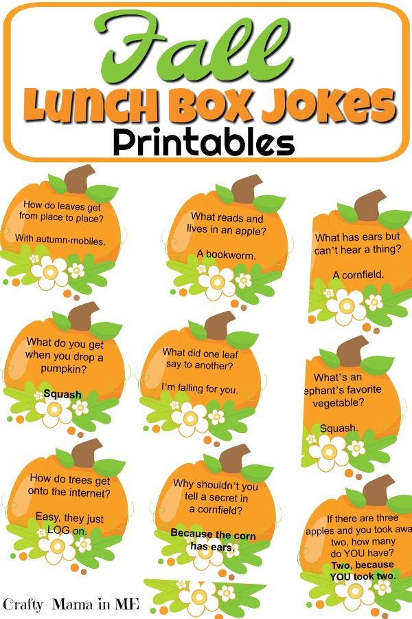 Fall Lunch Box Jokes for Kids – Angela Joyce-tobin