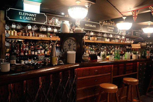 There are plenty of surprises to keep you on your toes too. | There Is A Secret Underground Bar In London That Contains An Entire Tube Carriage