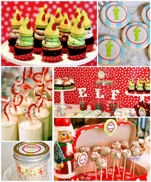 Christmas Decorations For A Party: 63 Best Images About Elf On The Shelf Theme Party On