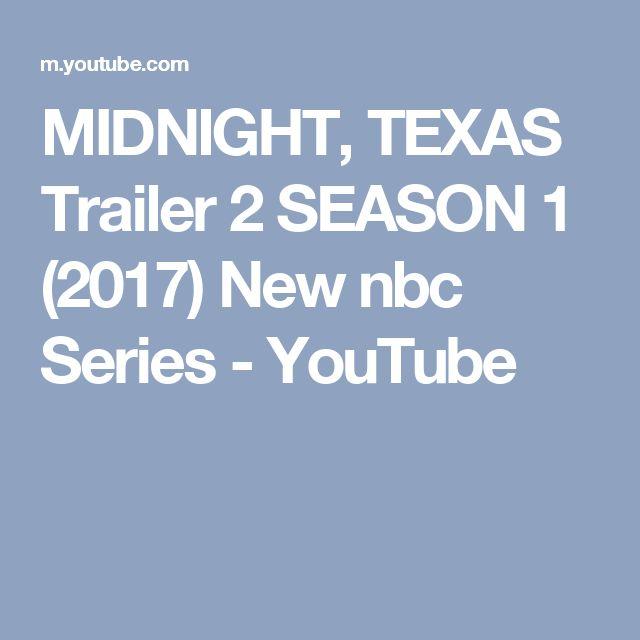 MIDNIGHT, TEXAS Trailer 2 SEASON 1 (2017) New nbc Series - YouTube