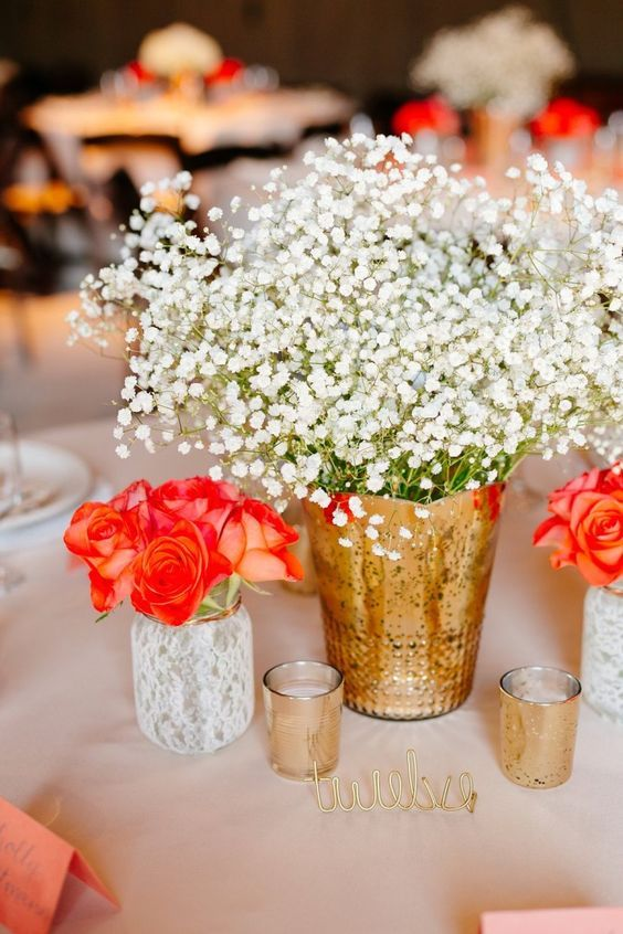 17 Best ideas about Summer Wedding Centerpieces on Pinterest Diy