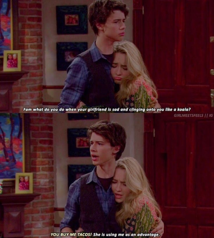 HE CALLED HER HIS GIRLFRIEND! I know this is actually girl meets world, but it's just so funny I thought you had to see it. WARNING: It's fake, but I still love it