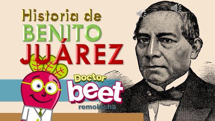 Benito Juárez para Niños   Biografia   Resumen Historia de Mexico   Prim...