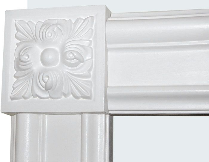 Corner Block For Window And Door Trim For The Home