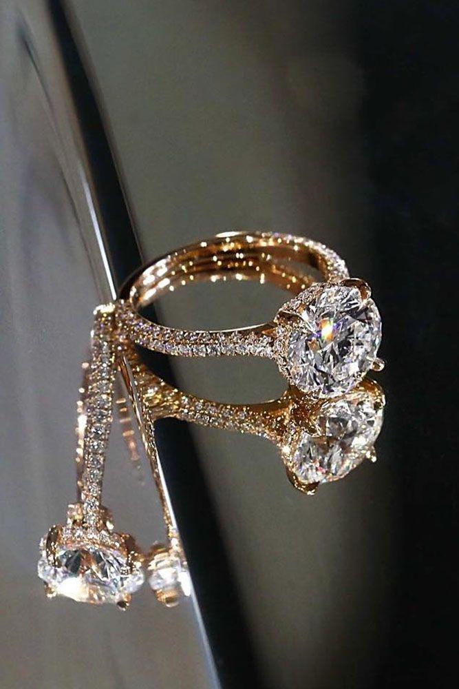 Pretty Diamond Engagement Ring Weddingring Diamondswedding Weddingrings Trending Engagement Rings Wedding Rings Engagement Rose Engagement Ring