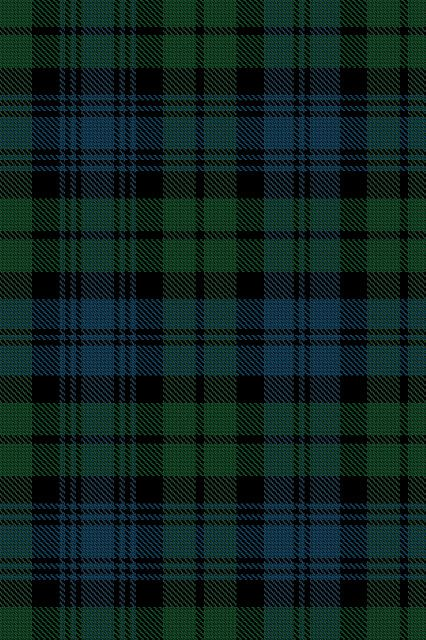 Black Watch tartan - for camper curtains?