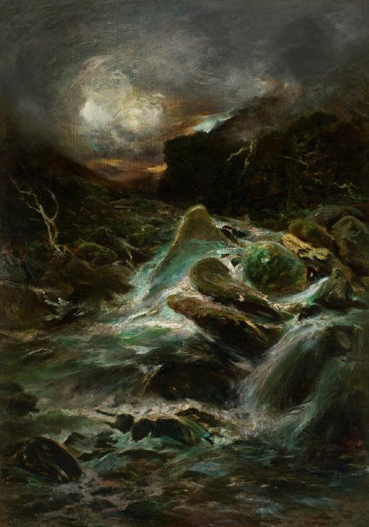 Otira Gorge by Petrus van der Velden