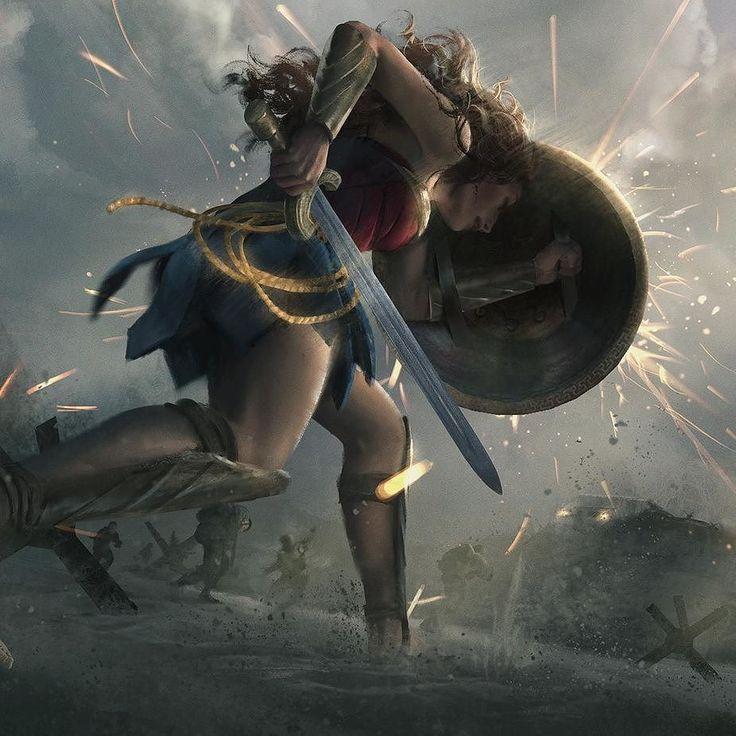 Wonder Woman fan art By Eric Persson AMAZING!!