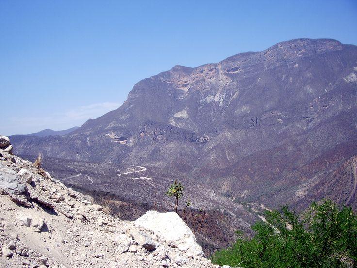 la Sierra Madre sur la route de Puebla à Oaxaca.