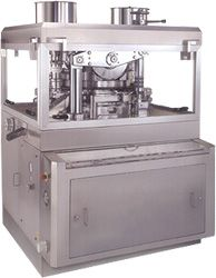 Tablet manufacturing is one of the most essential processes in a pharmaceutical industry. A pharmaceutical tablet press machine contains punches and dies which are essential components of tablet press responsible for compression action of the machine for formation of tablets into particular shape. Rotary tablet press machine is the best equipment for bulk tablet manufacturing tasks.