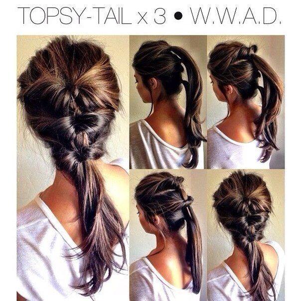 Ponytail long hair styles