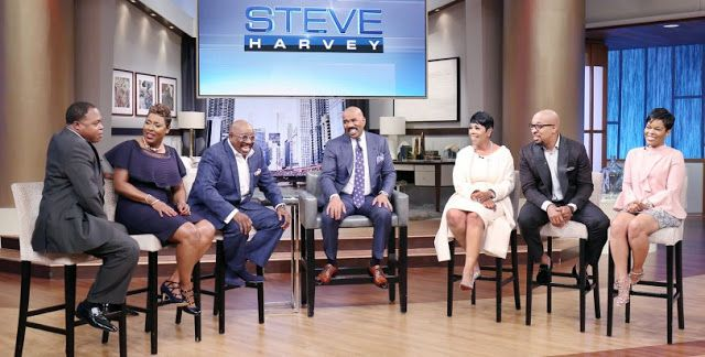 """Steve Harvey will welcome the entire cast of his syndicated radio show to his daytime TV program """"The Steve Harvey Show"""" on Tuesday, July..."""