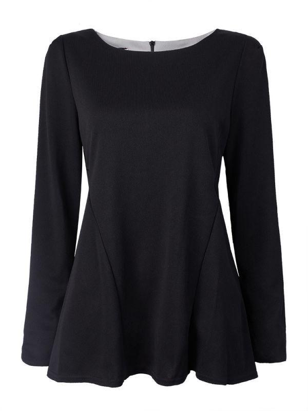 Women bottoming long sleeve pure color loose t-shirt zara clothing women#8217;s t shirts #cool #womens #t #shirts #new #girl #t #shirts #uk #running #t #shirts #womens #t #shirt #dress #womens #clothing