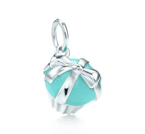 Ballet slipper charm in sterling silver with a diamond and pink enamel finish Tiffany & Co. L0DXAN