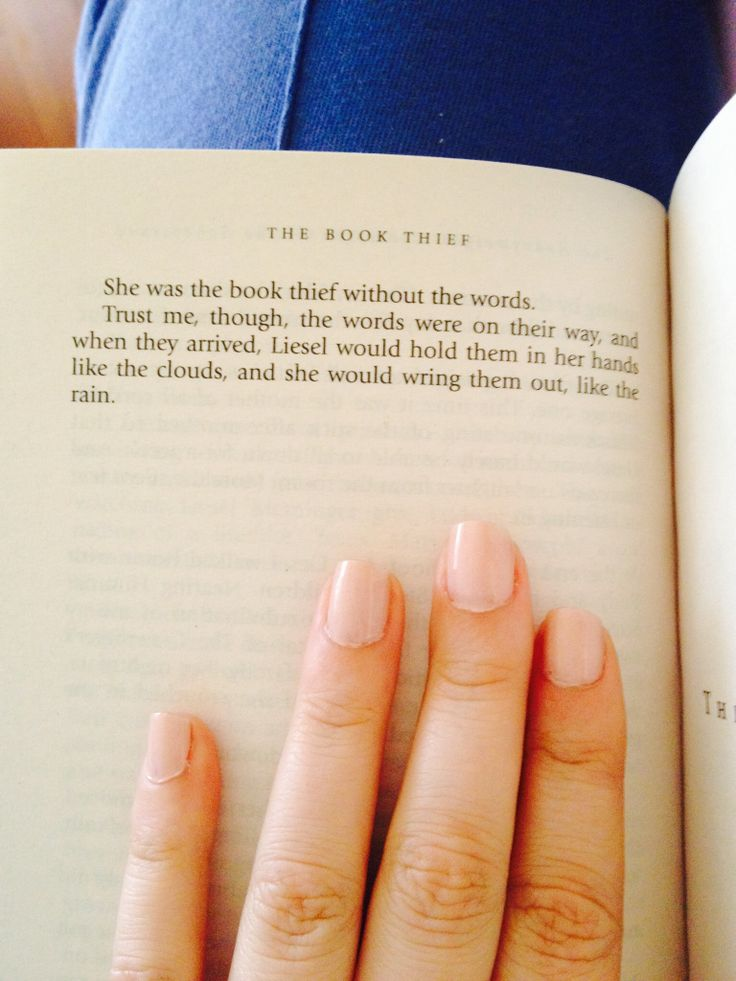 The Book Thief by Marcus Zusak: this quote is the most beautiful thing I've seen written in a long while. Feels!