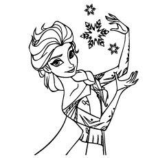 10 ideas about frozen coloring pages on pinterest olaf for Frozen christmas coloring pages