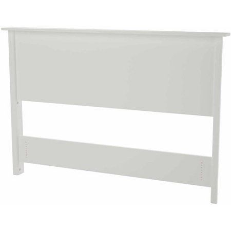 Mainstays Transitional Headboard, Multiple Finishes, White