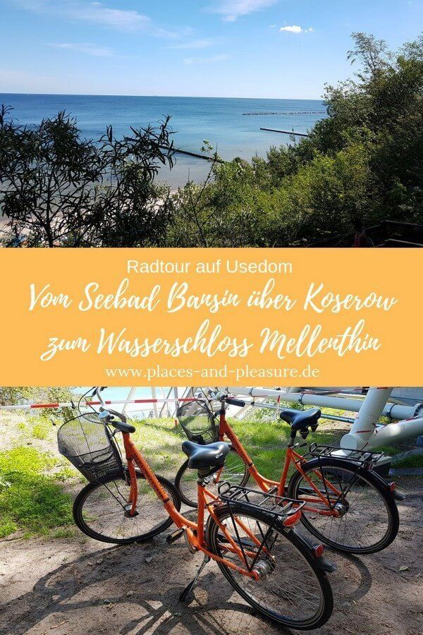 Radtour Auf Usedom Seebad Bansin Koserow Wasserschloss