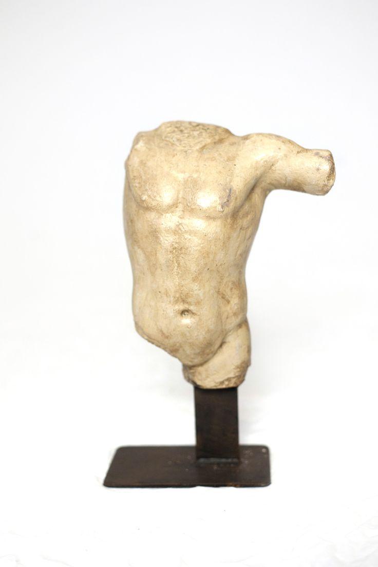 Male Torso Statue