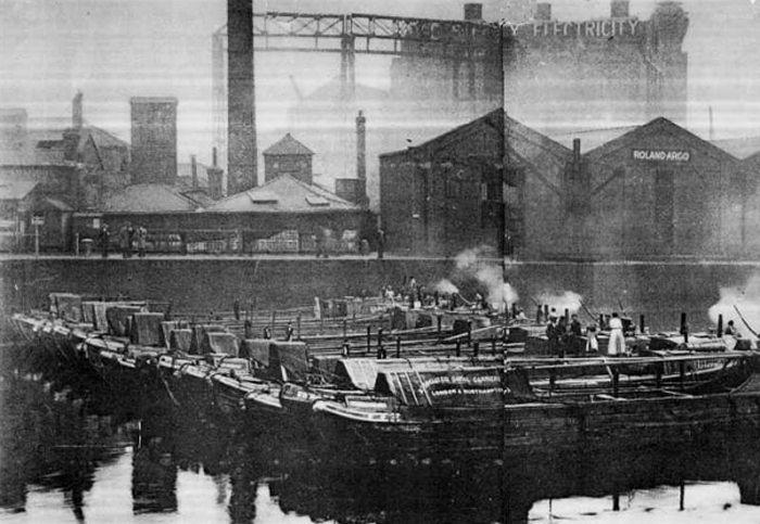 Regents Canal Dock, Limehouse, London