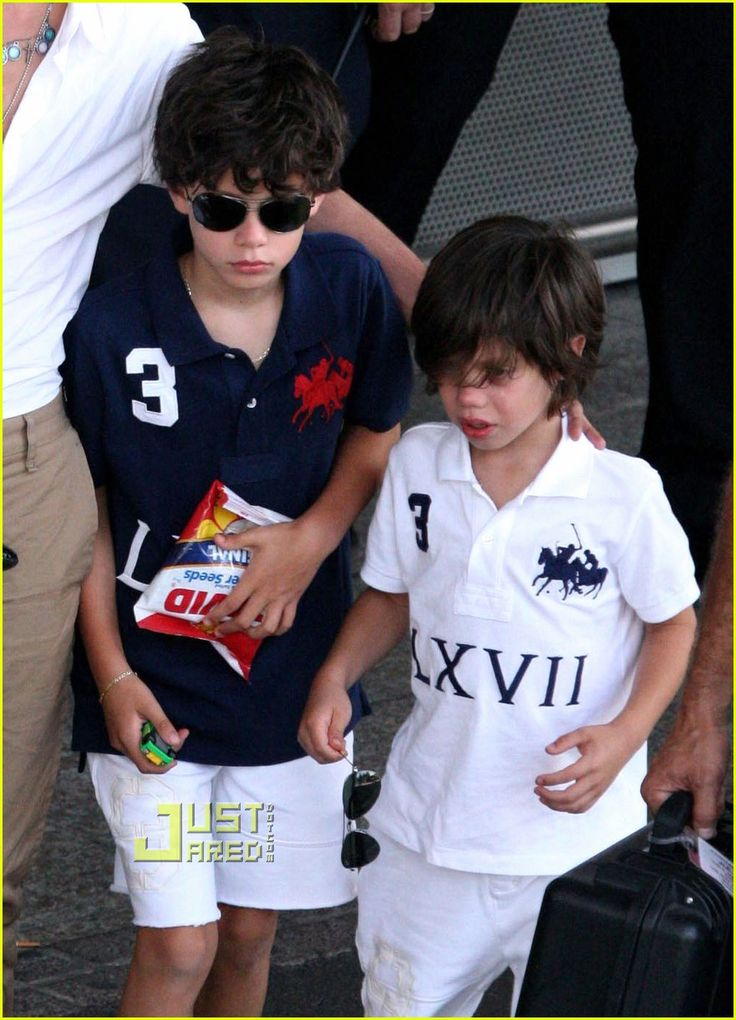 Photo of Marc Anthony & his  Son  Ryan Adrian Muñiz