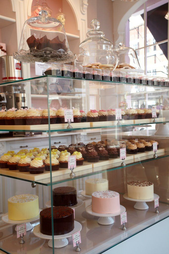 25 best ideas about bakery display on pinterest bakery for Bakery shop decoration ideas