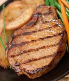 Hawaiian Grilled Pork Chops