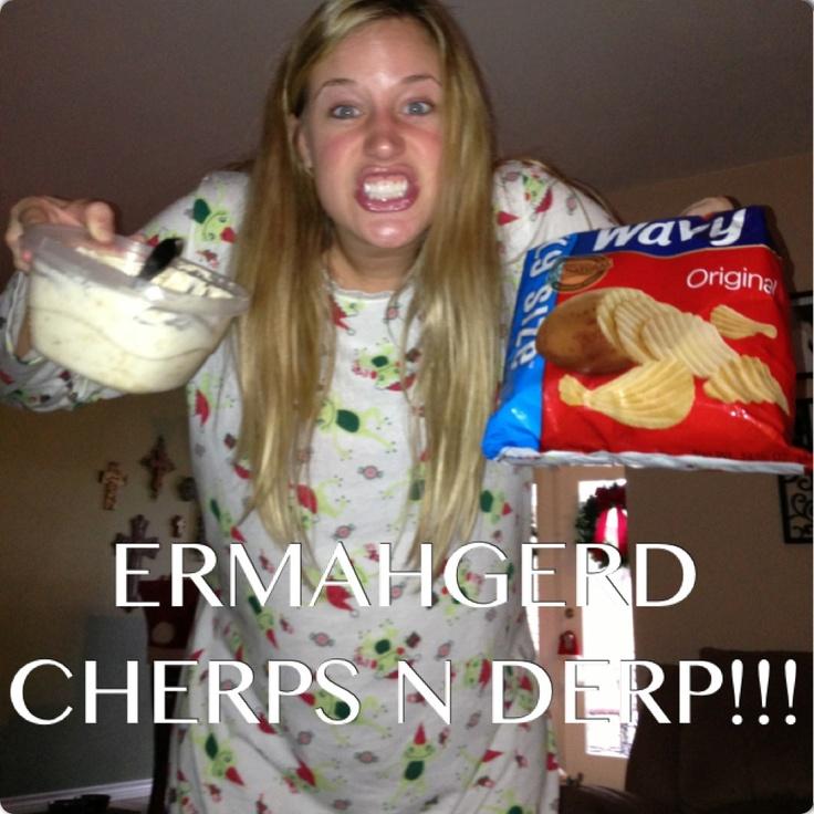 Ermahgerd Girl Mashed Potatoes