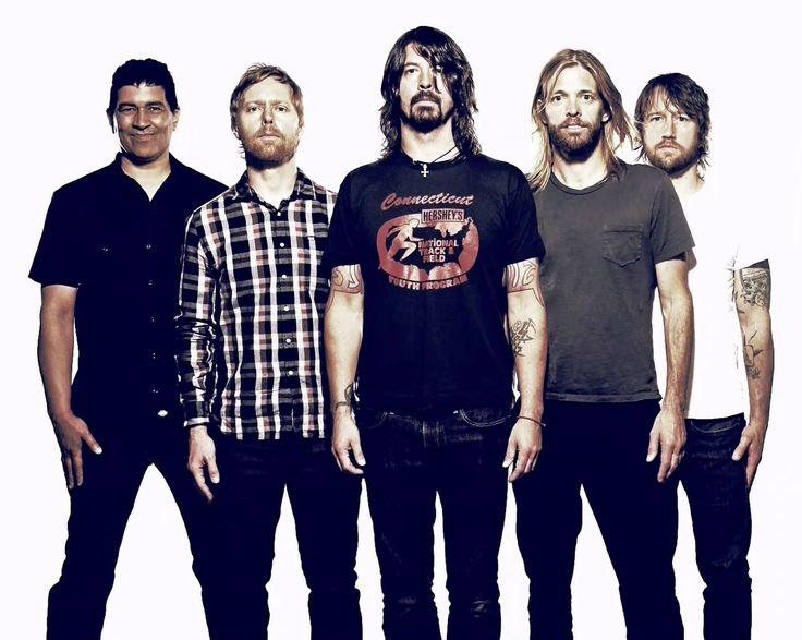 """De """"Foo Fighters"""" zijn mijn favoriete muziekgroep."""