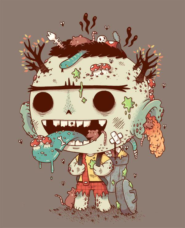 #cute #gross #illustration #kids