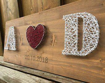 Hochzeit Gästebuch Eisen Herz Edelrost auf angefl…