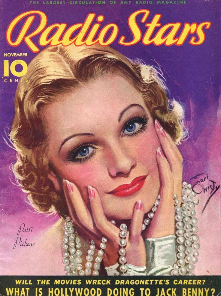 Radio Stars 11/1935Patti PickensEarl Christy