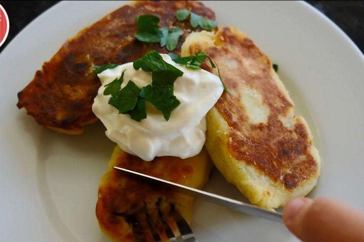 Comment cuisiner une pâte de pomme de terre farcie aux champignons