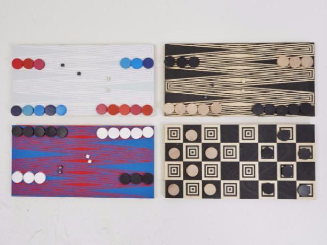 Backgammon and Checkers