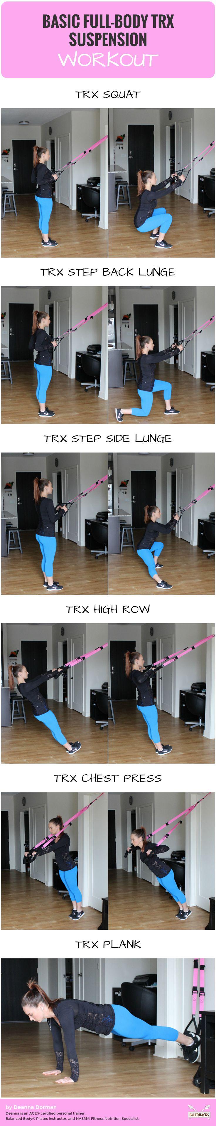 Basic Full Body TRX Suspension Workout