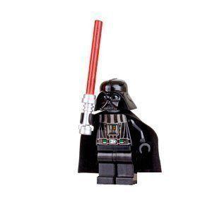 Lego Minifigures Star Wars  Darth Vader with Red Lightsaber