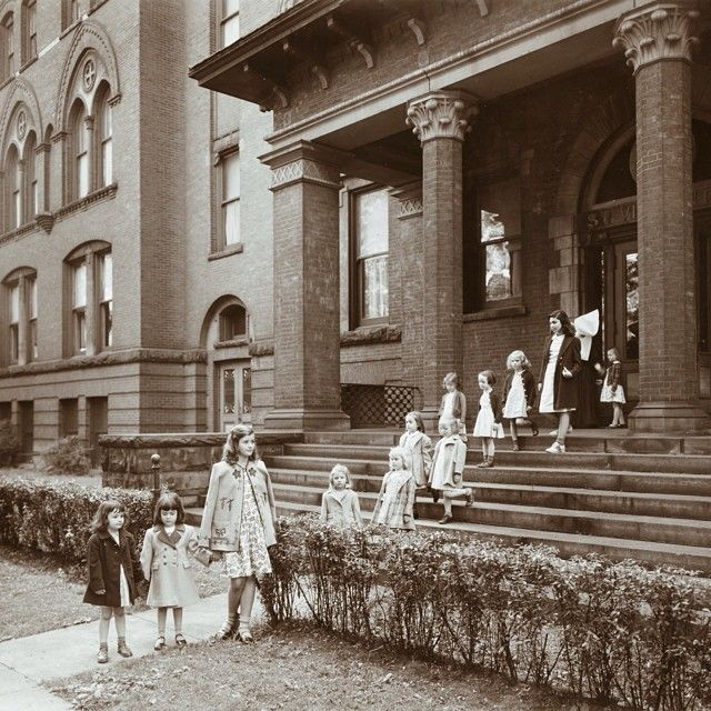 st vincent orphan asylum in buffalo courtesy of daughters of charity