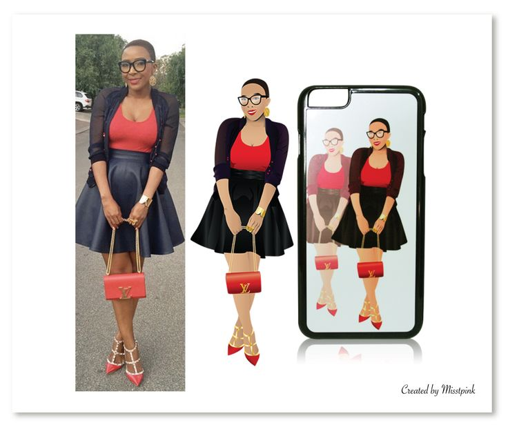 Customised phone cover for Uyanda Mbuli.#customised #cellphone #cover #proudly #southafrican