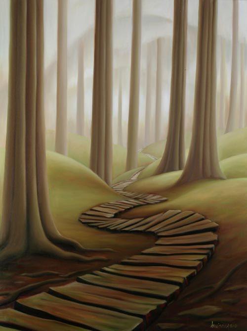 Broken Boardwalk by Dana Irving
