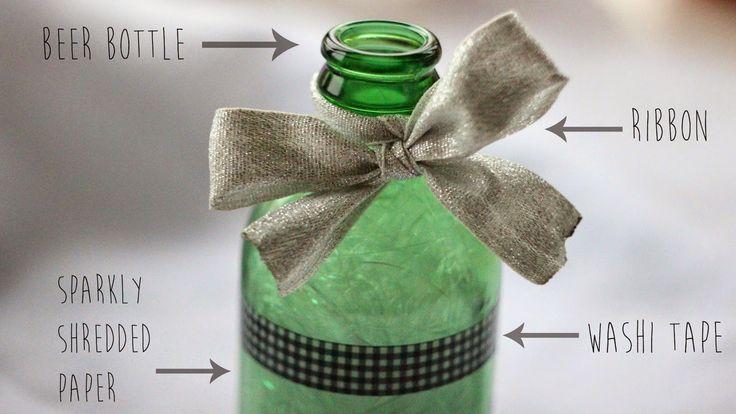 DIY - Simple Mother's Day Felt Roses in a Bottle | KATESKRAFT
