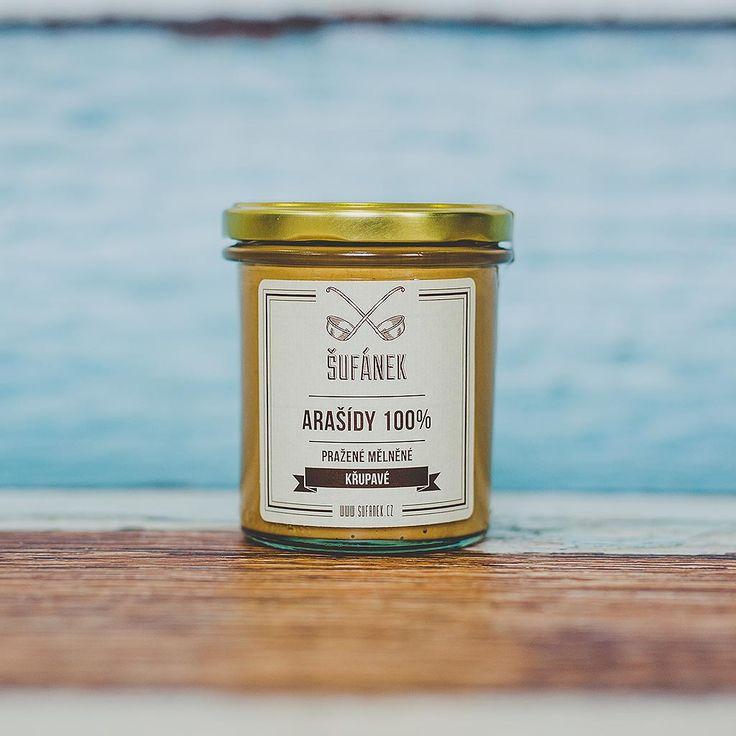 Arašídové máslo křupavé   Šufánek