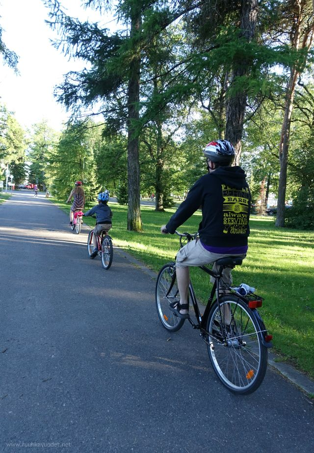 #Cycling is a nice way to get around in #Pärnu, #Estonia.