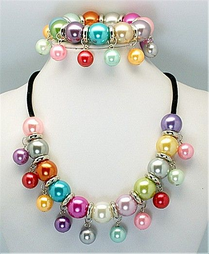 Acrylic Jewelry Sets, Bracelets and Necklaces