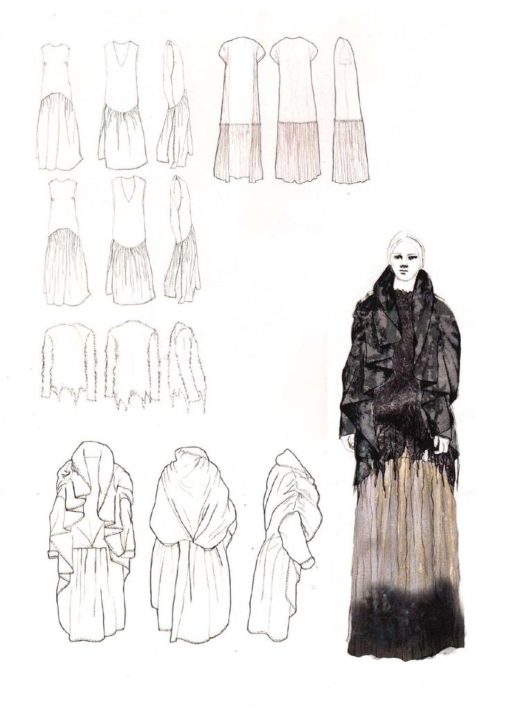 Fashion Sketchbook - graduate collection development; fashion illustration; fashion portfolio // Victoria Cumming