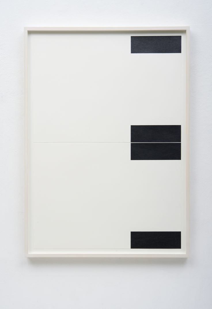 FRANK GERRITZ - Four Center Connection I, 2014 - Pencil on paper, 2 part, each 42 x 58.8 cm
