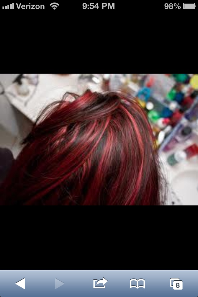 Red highlights | Fiery Reds | Pinterest | Red highlights ...